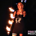 Fire Show at Kitty Diamond