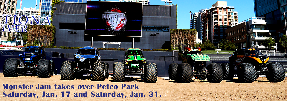 Monster Jam takes over Petco Park