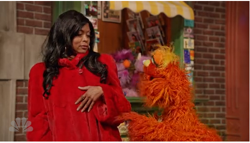 Cookie Lyon takes over the street – Sesame Street