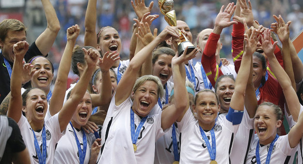 NYC Parade for Women's World Cup Champions