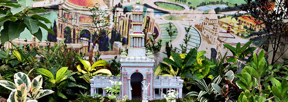 Conservatory of Flowers – Garden Railway: 1915 Pan-Pacific Exhibition
