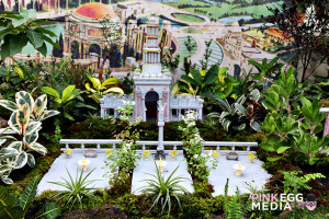 The Conservatory of Flowers' - Garden Railway: 1915 Pan-Pacific