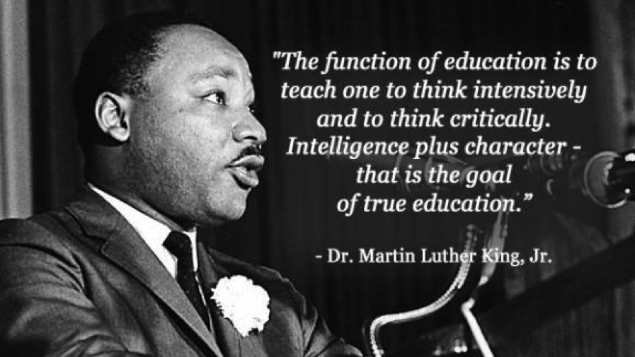 a discussion of moral issues in martin luther king jrs essay