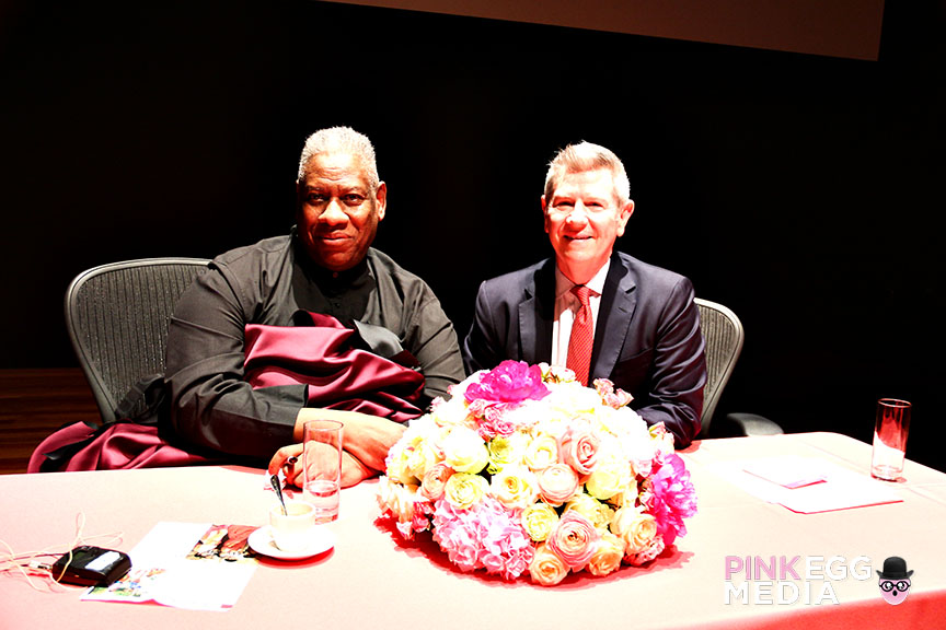 Exhibition Curator, Andre Leon Talley and <br>Acting Director & Exhibition Organizer of Fine Arts Museums of San Francisc, Richard Benefield