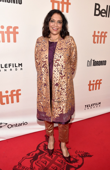 "Director Mira Nair arrives at the world premiere of Disney's ""Queen of Katwe"" at Roy Thompson Hall"