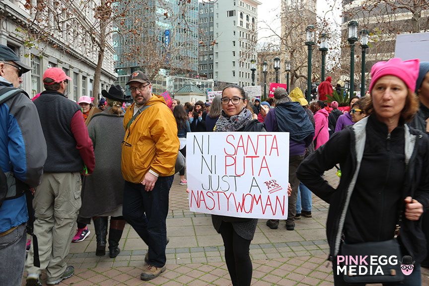 Women's March Oakland - Photo: Kathy