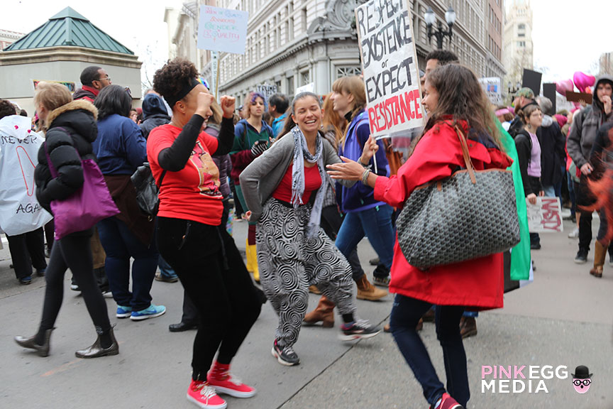 Women's March Oakland - Photo: Ana Pines