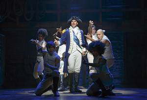 Hamilton Richard Rodgers Theatre Cast Lin-Manuel MirandaAlexander Hamilton Javier Muñoz Alexander Hamilton Alternate Carleigh Bettiol Andrew Chappelle Ariana DeBose Alysha Deslorieux Daveed Diggs Marquis De Lafayette Thomas Jefferson Renee Elise Goldsberry Angelica Schuyler Jonathan Groff King George III Sydney James Harcourt Neil Haskell Sasha Hutchings Christopher Jackson George Washington Thayne Jasperson Jasmine Cephas Jones Peggy Schuyler Maria Reynolds Stephanie Klemons Emmy Raver-Lampman Morgan Marcell Leslie Odom, Jr. Aaron Burr Okieriete Onaodowan Hercules Mulligan James Madison Anthony Ramos John Laurens Phillip Hamilton Jon Rua Austin Smith Phillipa Soo Eliza Hamilton Seth Stewart Betsy Struxness Ephraim Sykes Voltaire Wade-Green Standby: Javier Muñoz (Alexander Hamilton) Production Credits: Thomas Kail (Director) Andy Blankenbuehler (Choreographer) David Korins (Scenic Design) Paul Tazewell (Costume Design) Howell Binkley (Lighting Design) Other Credits: Lyrics by: Lin-Manuel Miranda Music by: Lin-Manuel Miranda Book by Lin-Manuel Miranda